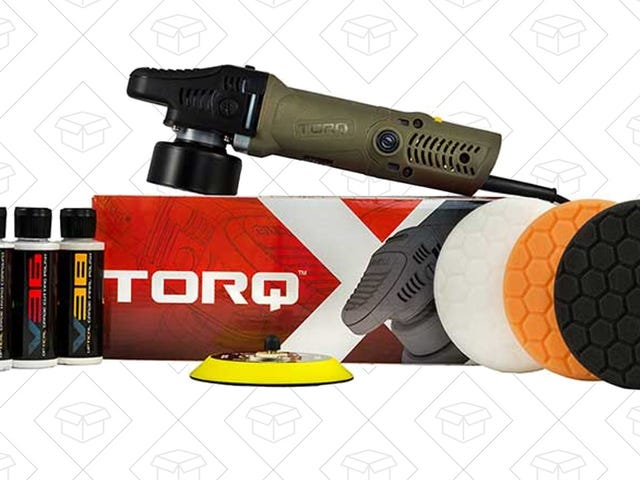 Give Your Car Some Much-Needed Attention With This Discounted Orbital Polisher Kit