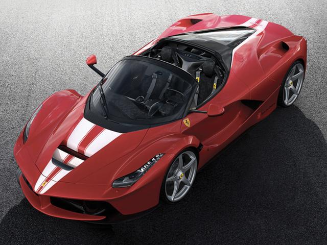 The Last Ferrari LaFerrari Aperta Will Be Auctioned Off Very Soon