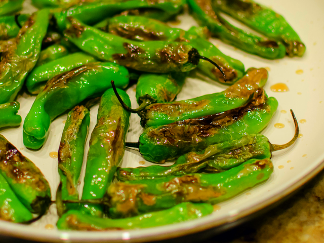 Serve Shishito Peppers at Your Super Bowl Party