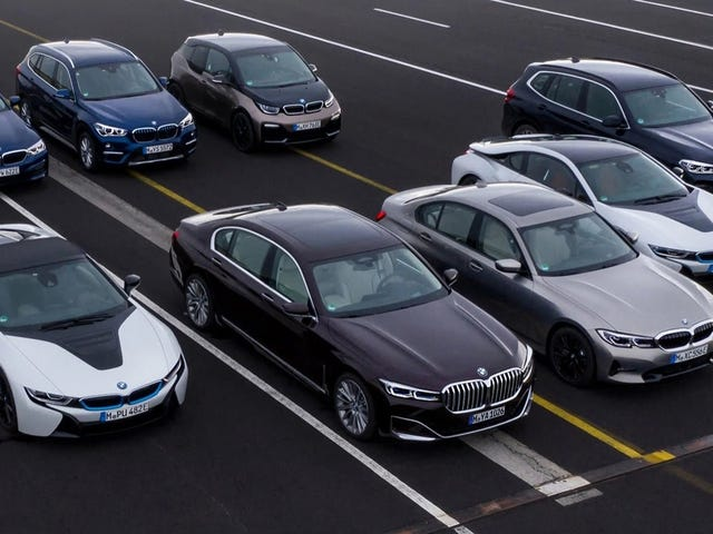 BMW Says It Will Cut Emissions In Europe By 20 Percent, Gives No Indication How