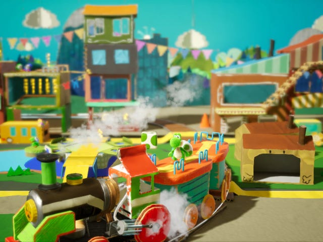 The Best Part Of <i>Yoshi's Crafted World</i> Is The Scenery