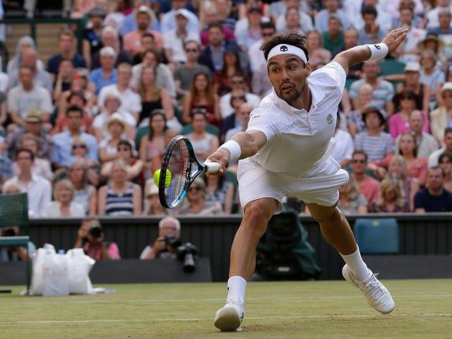 Andy Murray selviytyy Fabio Fogninista, The Sleepy Piratesta