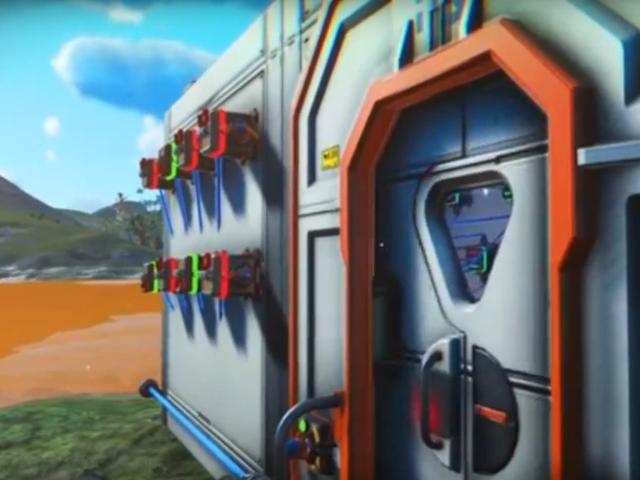 Tiada pemain Sky Man Membina Kunci Kombinasi