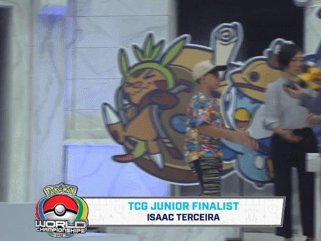 Pokémon Trophy Breaks The Moment Winner Touches It
