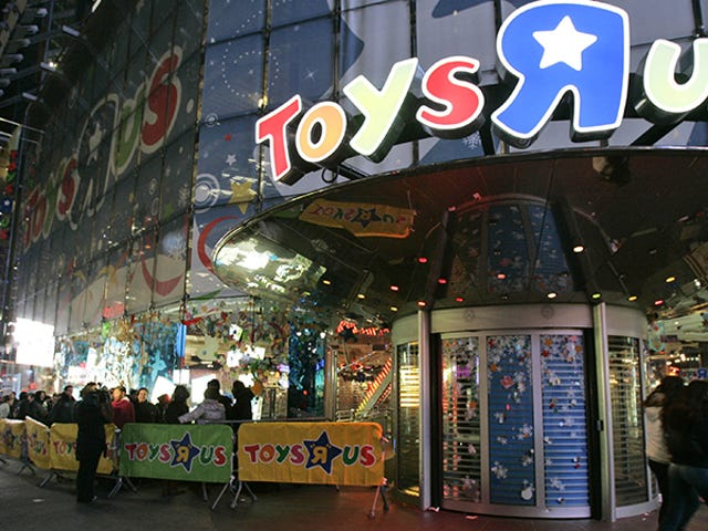 Toys'R'Us Files For Chapter 11 Bankruptcy, But It's Not Dead Yet