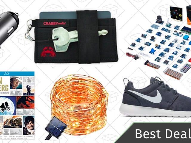 周四的最佳交易:Crabby钱包,耐克销售,树莓派传感器套件,等等