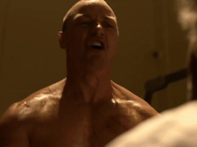 James McAvoy går på et rampage i den nyeste film fra <i>Glass</i>