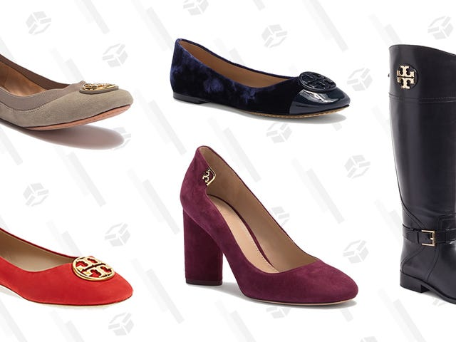 Step Up Your Work Shoe Game With This Sale on Tory Burch Flats, Boots, and More