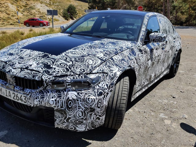 Ces mules pourraient être les prochaines BMW M3 et M5