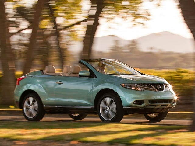 Am I the only person who loves the Murano CrossCabriolet?