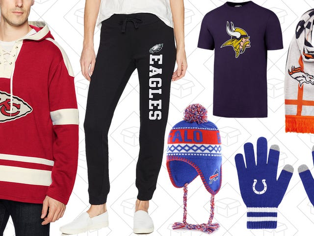 Get All Your Late-Season Gear With This One-Day Sale on NFL Gear