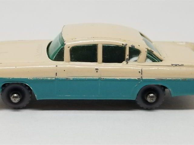 LaLD Car Week: Lesney Matchbox 1958 Vauxhall Cresta - the rarest Matchbox ever seen on LaLD