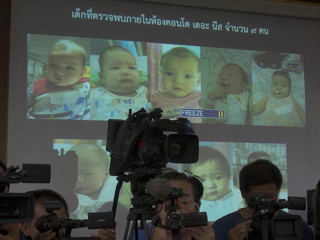 "​Father of 16 Investigated in Interpol ""Baby Factory"" Case"
