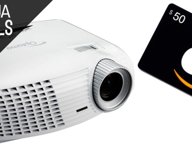 Finally Upgrade to a Projector with This Deal from Amazon