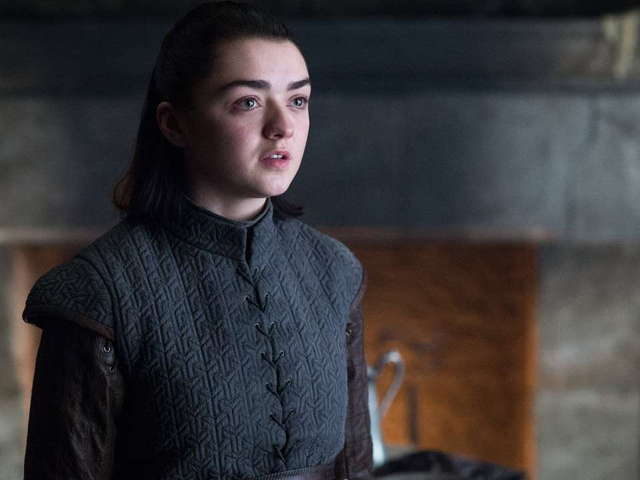 Maisie Williams Shared a Bloody Tribute to Her Time on Game of Thrones
