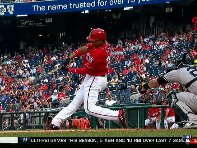 Strong Teen Juan Soto Smacked The Hell Out Of This Dinger