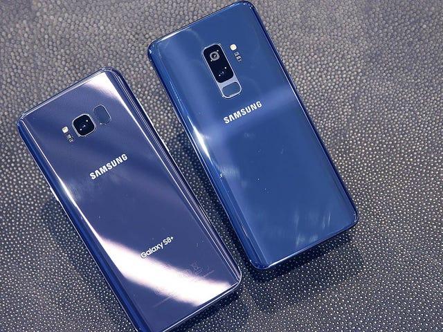El Galaxy S9 vs el iPhone X es puntos de referencia: por poco, pero Samsung es el vencedor