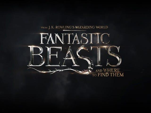 Fantastic Beasts and Where to Find Them löytyvät Vahvistettu olemaan trilogia, kurssin vuoksi