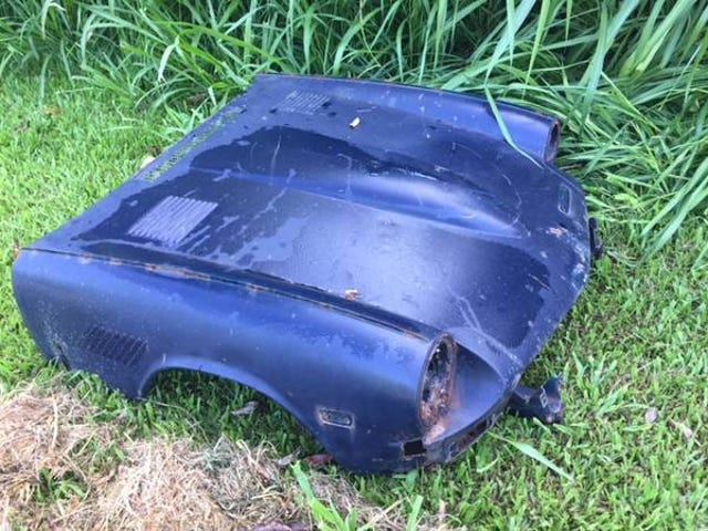 """Craigslist ID: """"This was dumped near our subdivision...."""""""
