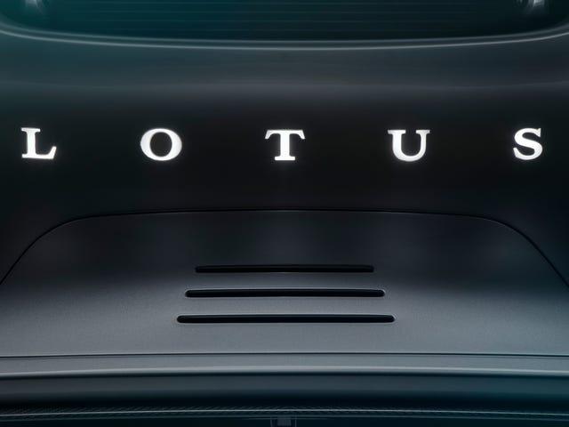 Der erste neue Lotus seit 11 Jahren wird nächsten Monat enthüllt