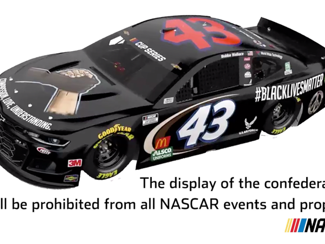Confederacy Loses Again, This Time To NASCAR