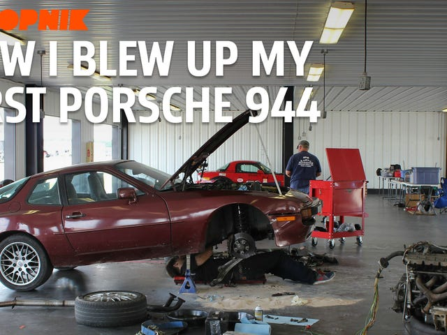 Here's How I Blew Up My First Car: A Porsche 944