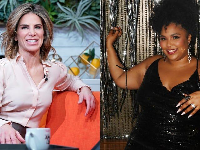 Jillian Michaels päättää kommentoida Lizzon vartaloa enemmän kuin harjoittaa periksi säädyllisyyttä