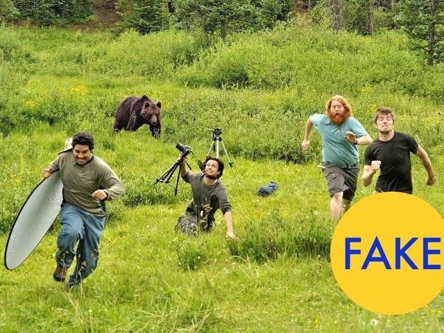"""Behind the scenes of """"behind the scenes at National Geographic"""""""