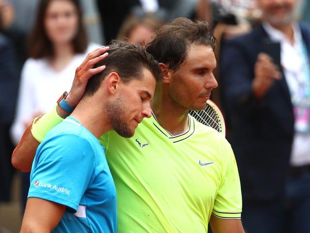 Dominic Thiem Got Closer, But Rafael Nadal Still Stepped On Him