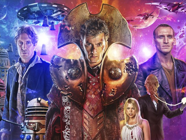 Doctor Who Sætter David Tennant, Paul McGann og Christopher Eccleston i en ny slags tidskrig