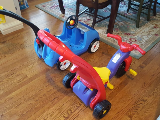 Fisher Price can DIAF