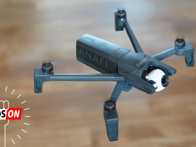 Parrot's New Foldable Drone Can Nail Some Crazy Shooting Angles