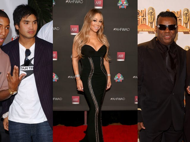The Neptunes, Mariah Carey and the Isley Brothers Inducted Into the Songwriters Hall of Fame