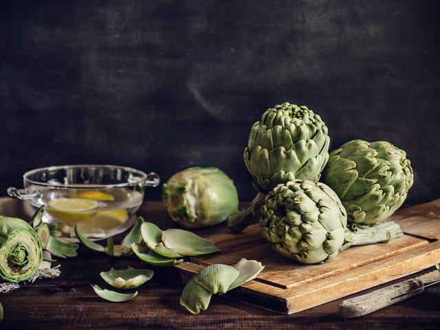 Cómo limpiar y cocinar una alcachofa, un proyecto sorprendentemente simple con una gran recompensa