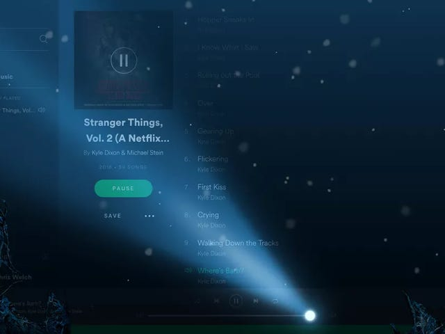 Get a Custom Stranger Things Playlist on Spotify
