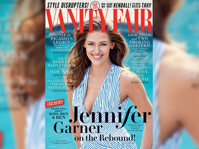 Jennifer Garner Talks Nannygate, Ben Affleck's Tat in Wild VF Cover Story: 'He's the Love of My Life'