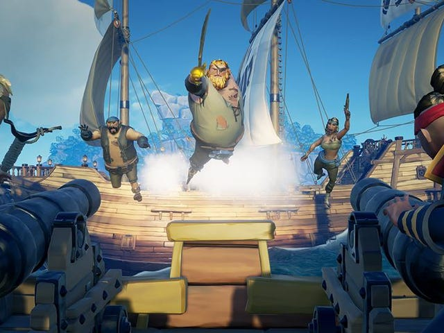 Sea Of Thieves Servers Weren't Prepared For So Many Players