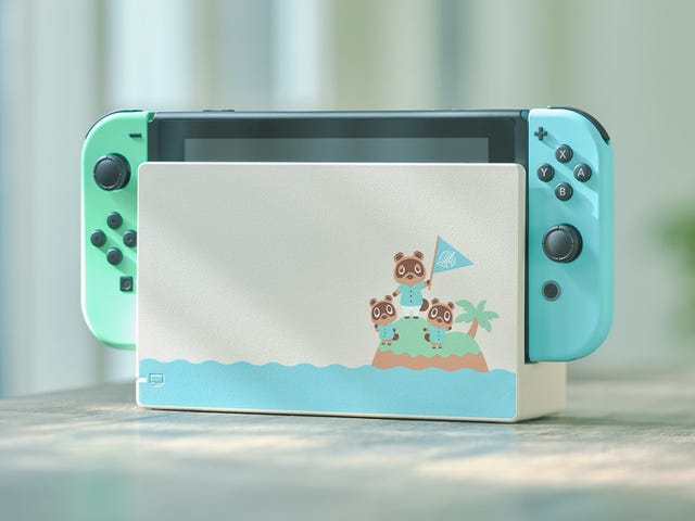Nintendo Is Releasing An Animal Crossing Switch, And It Is Beautiful