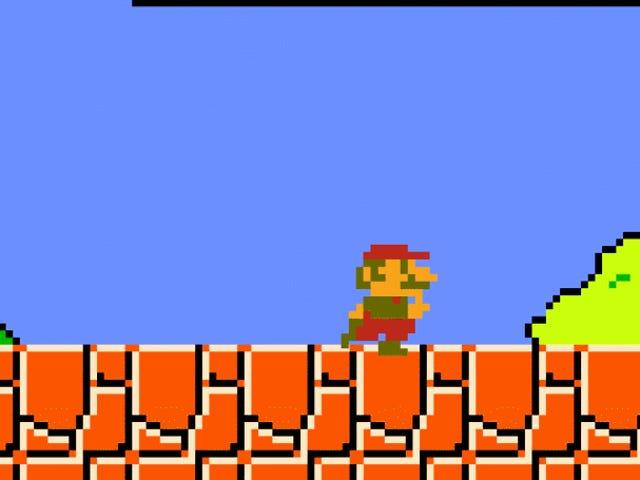 Modem omvandlar <i>Super Mario 64</i> till <i>Super Mario Bros</i>