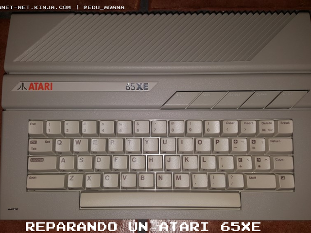 Reparando un Atari 65XE