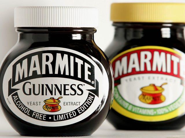 最后,一个到达Marmite的技巧