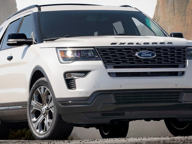 Ford Explorer ST Confirmed As We Stray Further From God's Light
