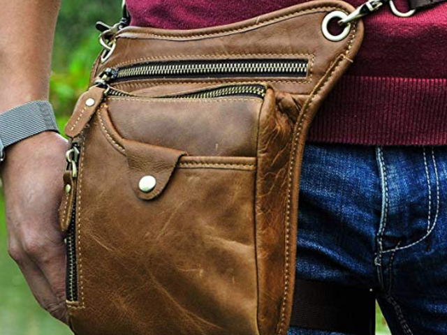 Drop Leg Bags Are the Perfect Low-Impact Carrying Packs