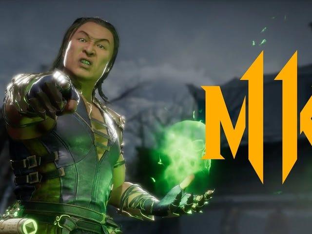 Mais três personagens se juntam a Shang Tsung como parte do primeiro Kombat Pack do Mortal Kombat 11