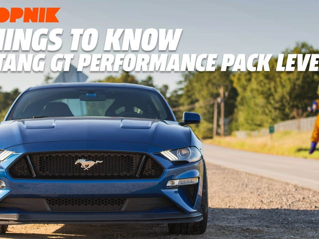 2018 Ford Mustang GT Performance Pack Level 2: Five Things You Should Know