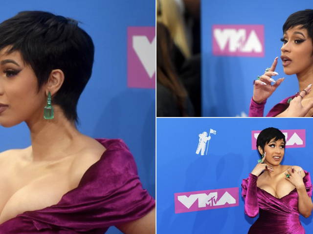 Cardi Has Arrived at the VMAs, and She's Snatched!
