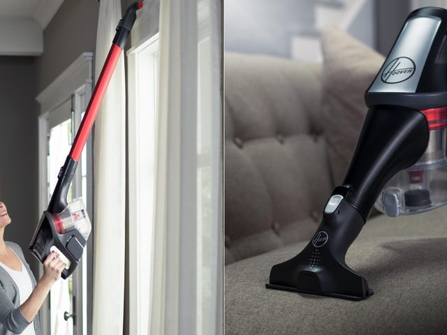 Cut the Cord With $40 Off This Cordless Hoover Vacuum