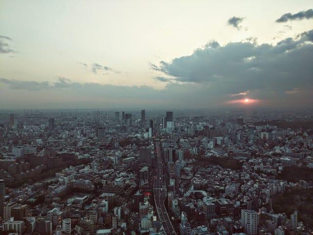 रोप्पोंगि टॉवर से देखें