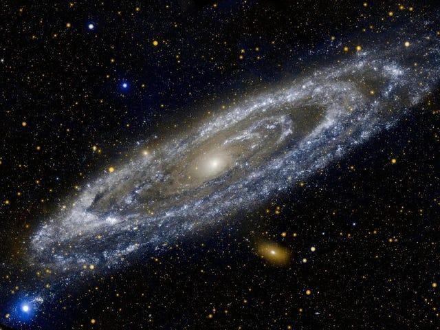 Todas las galaxias, sin importar su tamaño, tardan 1000 millones de años en rotar