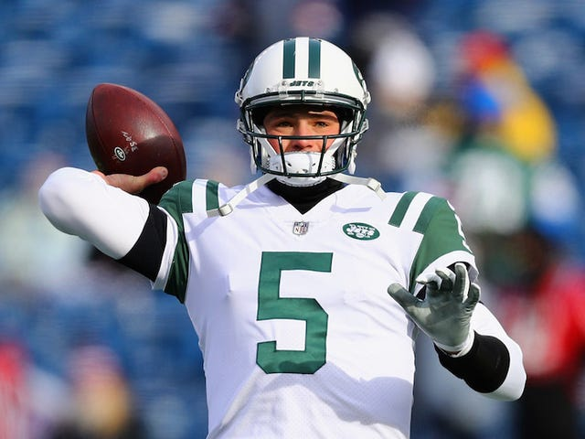 Jets Trade: Christian Hackenberg, Never Used
